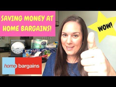 Saving Money At Home Bargains
