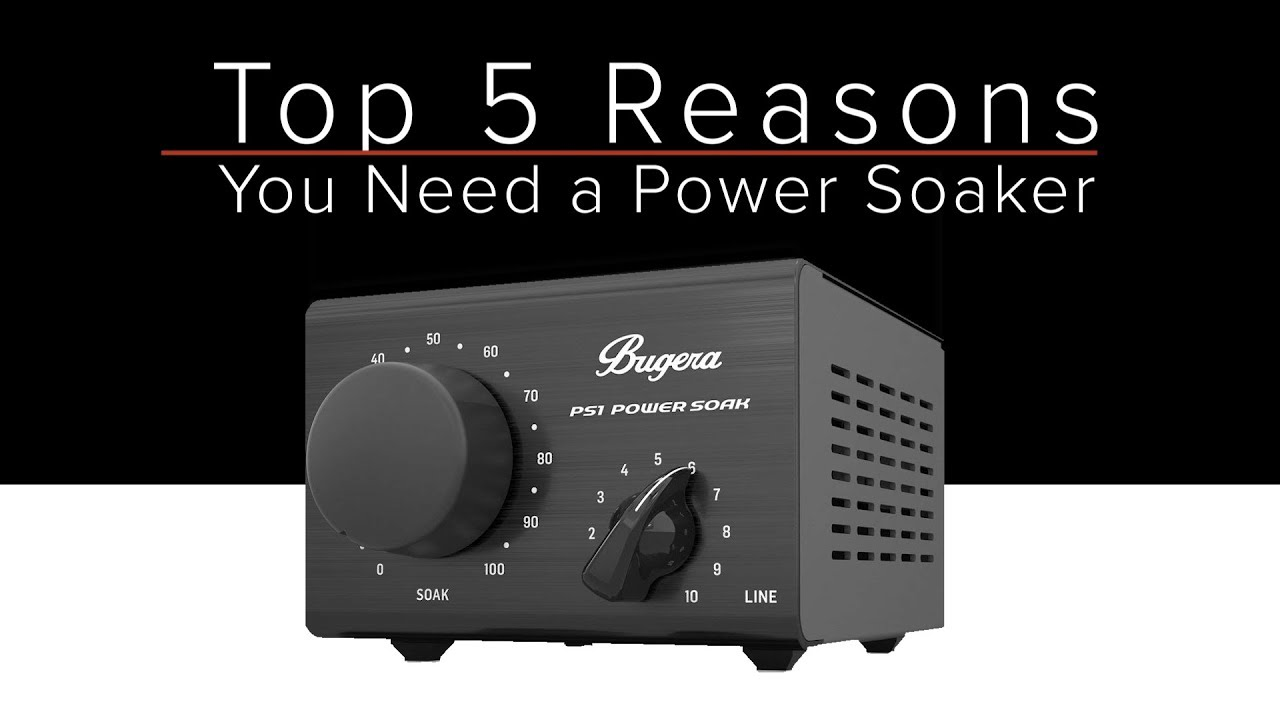 Top 5 Reasons You Need A Power Soaker Bugera Ps1 Amp Attenuator Guitar Discoveries 27 Youtube