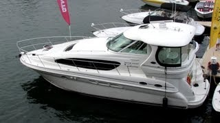 2005 Sea Ray 390 Motor Yacht Exterior and Interior - 2012 Montreal In-Water Boat Show