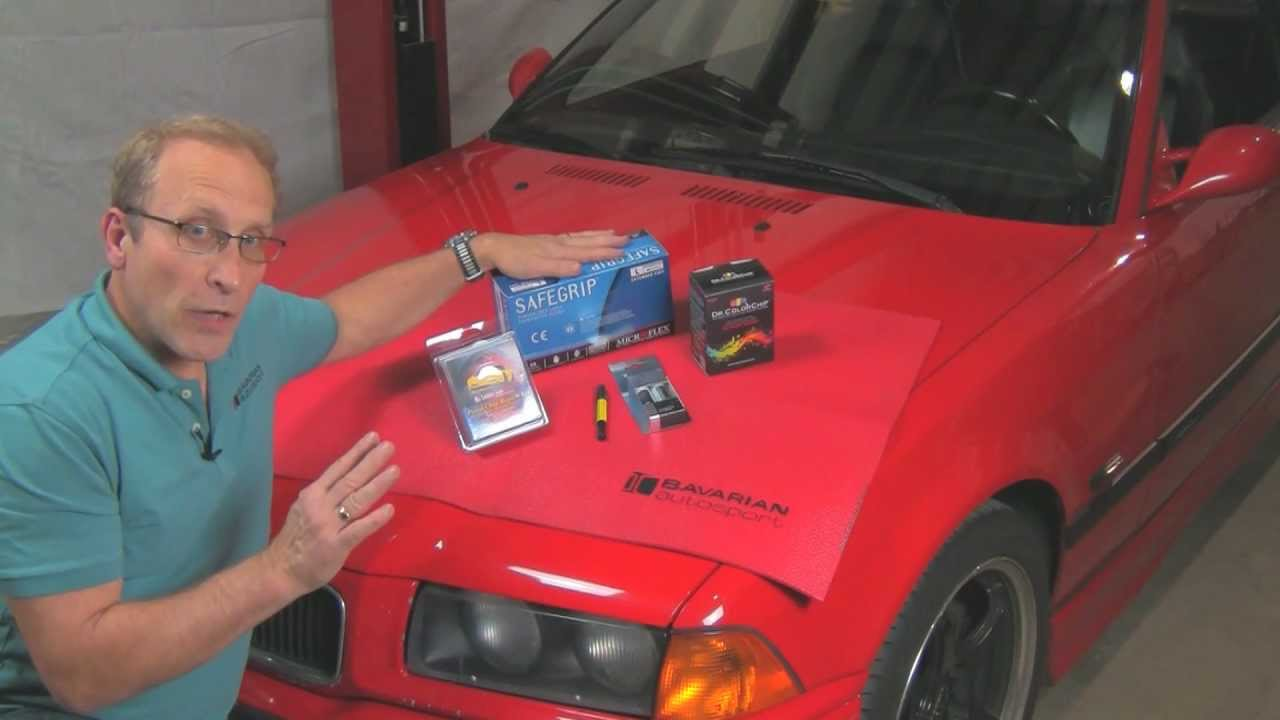 Repairing Paint Chips On A Bmw Or Mini Youtube