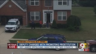 Deputy charged with promoting prostitution