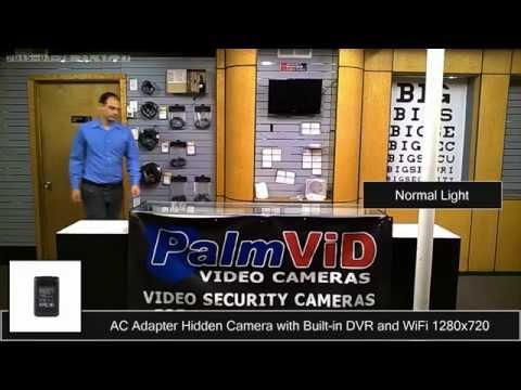 AC ADAPTER WiFi DVR Hidden Camera Sample Video