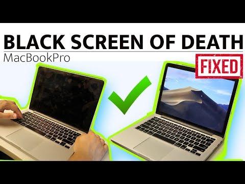 MacBook Pro Black Screen Of Death - Fixed 2019 (Working Method)