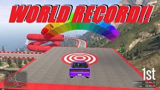 NEW GTA Online Special Vehicle Stunt Race: Ruiner 2000 WORLD RECORD