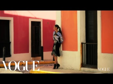 Joan Smalls and Family in Puerto Rico - Vogue Diaries