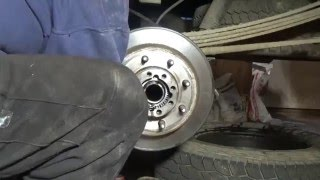 Rear Axle Seal Replacement On A Chevy 2500 HD
