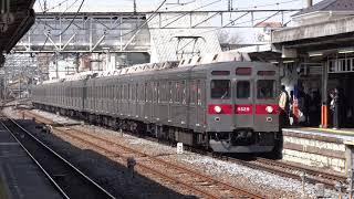 東急8500系 春日部駅到着