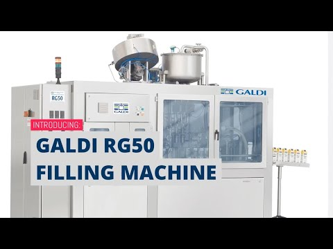 Galdi RG50 Food Filling Machine Explainer Video