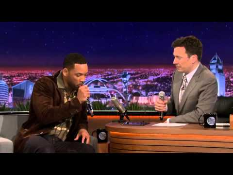 Will Smith & Jimmy Fallon Beatbox 'It Takes Two' Using iPad App