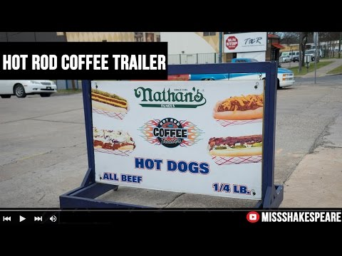HOT ROD Coffee Trailer, Austin TX | Food Truck.
