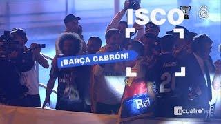 Isco: ¡Barça Cabrón! - Celebracion Cibeles Real Madrid - ...