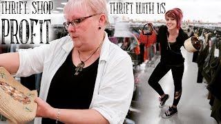 """Thrifting Vintage """"Junk"""" for Resale Profits   Thrift with Us   Buying & Reselling"""