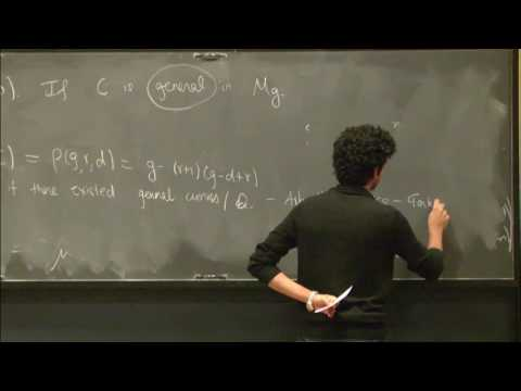 The space of equations for an algebraic curve - Dhruv Ranganathan