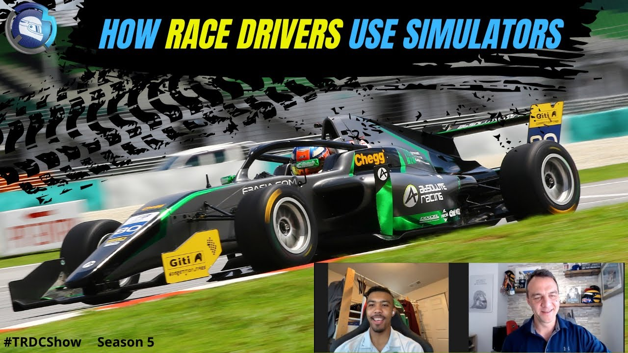 #TRDCShow S5 E6 - Jaden Conwright - How race drivers use simulators / Direct Drive vs Belt Driven