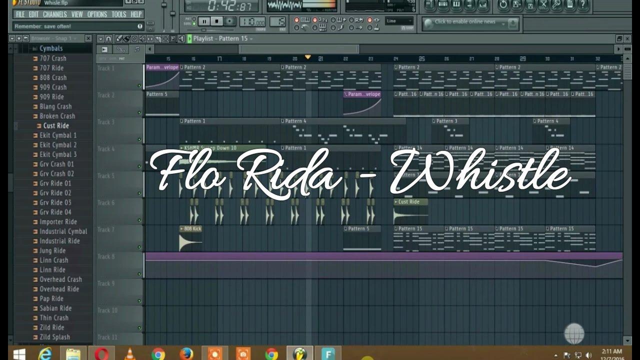 Flo Rida - Whistle REMAKE in FL Studio | Nimesh Tandey (FL Music Video)