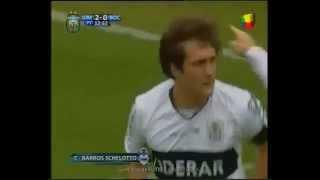 """Último gol de Guillermo Barros Schelotto y un """"casi me muero""""."""