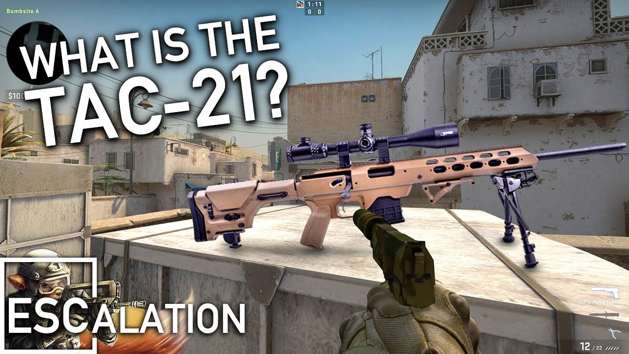CS:GO's Mystery Sniper - The TAC21 - Cut Content Of Counter-Strike #35 thumbnail