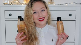 1 Advent | Anmeldelse + GIVEAWAY - Redken Diamond Oil High Shine Serie  LUKKET! Thumbnail