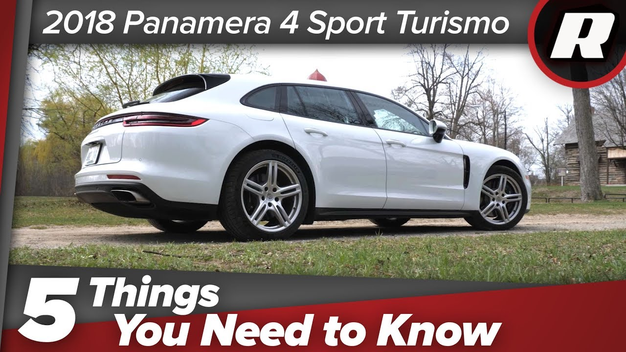 Five things to know: 2018 Porsche Panamera 4 Sport Turismo