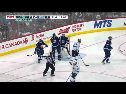 Sharks @ Jets Highlights 01/12/16