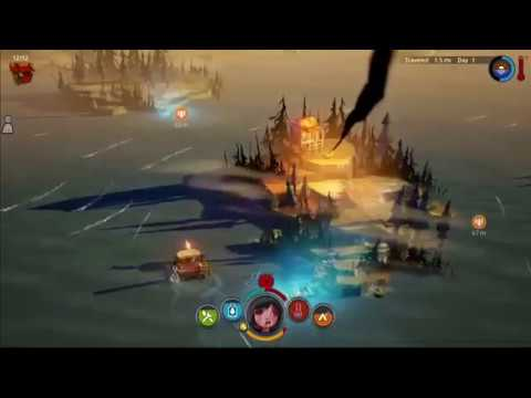 Toonami - The Flame and the Flood Game Review (HD 1080p)