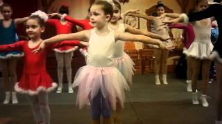 Gimnastica ritmica:Dans de Craciun