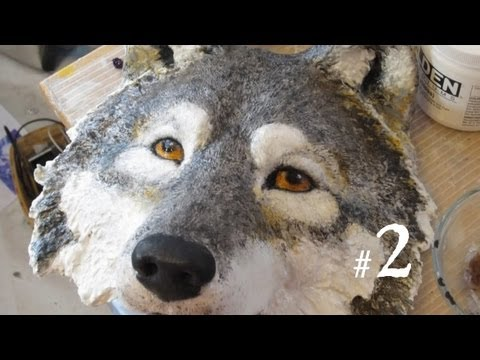 How to Make a Wolf Mask, Part 2