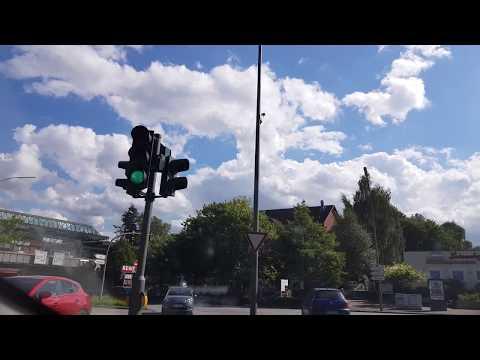 Driving Downtown Hamburg 4K Samsung S8 8'2017