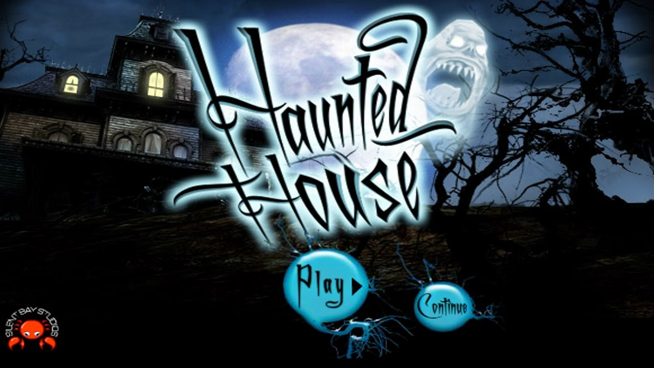haunted halloween house ghost hunting game - Halloween House Pictures