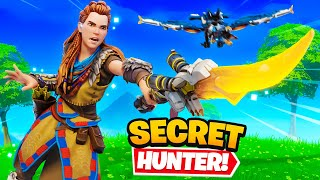 *NEW* Aloy in Fortnite (Secret Hunter Skin)