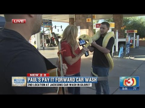 Paul S Pay It Forward Car Wash Offers 2 Locations For Getting Your