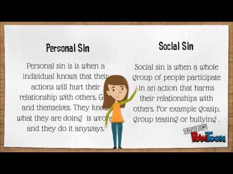social sin examples