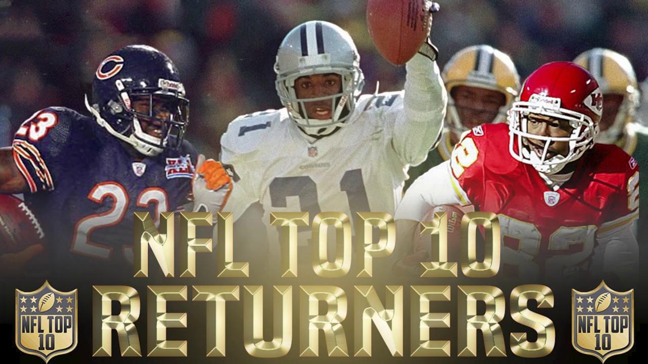 NFL Top 10 Best Kick Returners & Best Punt Returners Ever