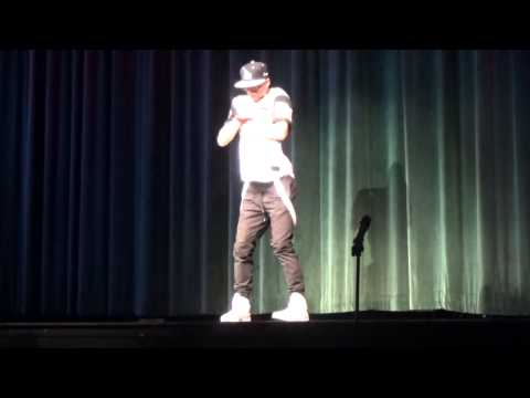 Siegel High School Talent Show 2015 Elektrick - Chain hang low (crizzly & AFK Remix)