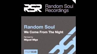 "RSR038   Random Soul ""We Come From The Night"""