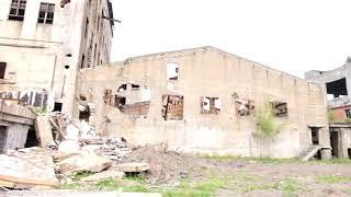 樺太の旧敷香(ポロナイスク)の日本統治時代の廃墟②