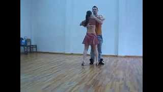 Bachata Sensual - Техника волн Связка (А.Нечаев)