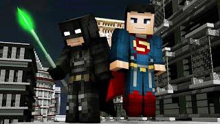Batman v Superman: Dawn of Justice - Minecraft Speedart