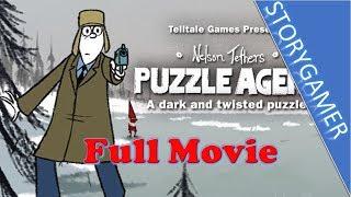 Puzzle Agent Game Movie All Cutscenes
