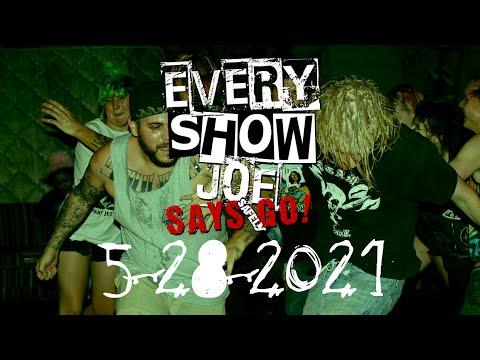 Every Show Joe Says Safely Go! 5-28-2021