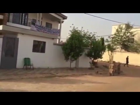 À louer Bamako Mali villa meublée location à l'année Sebenikoro agence immobilière TDI TEL:77050505