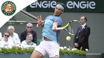 Rafael Nadal v Facundo Bagnis Highlights - Men's Round 2 2016 - Roland-Garros
