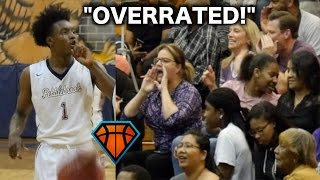"Collin Sexton Responds To ""OVERRATED"" Chants With a 40-PIECE!! Full Highlights vs TOUGH Duluth Squad"