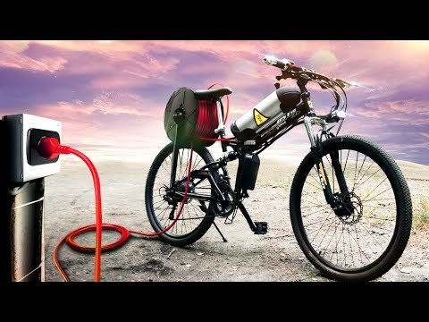 видео: Купил на АЛИ самый дешевый электро велосипед