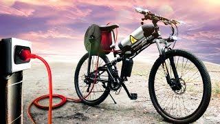 Купил на АЛИ самый дешевый электро велосипед