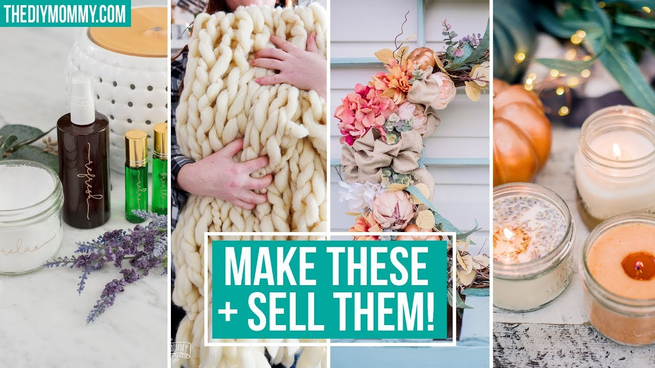 10 Crafts To Make Sell Youtube