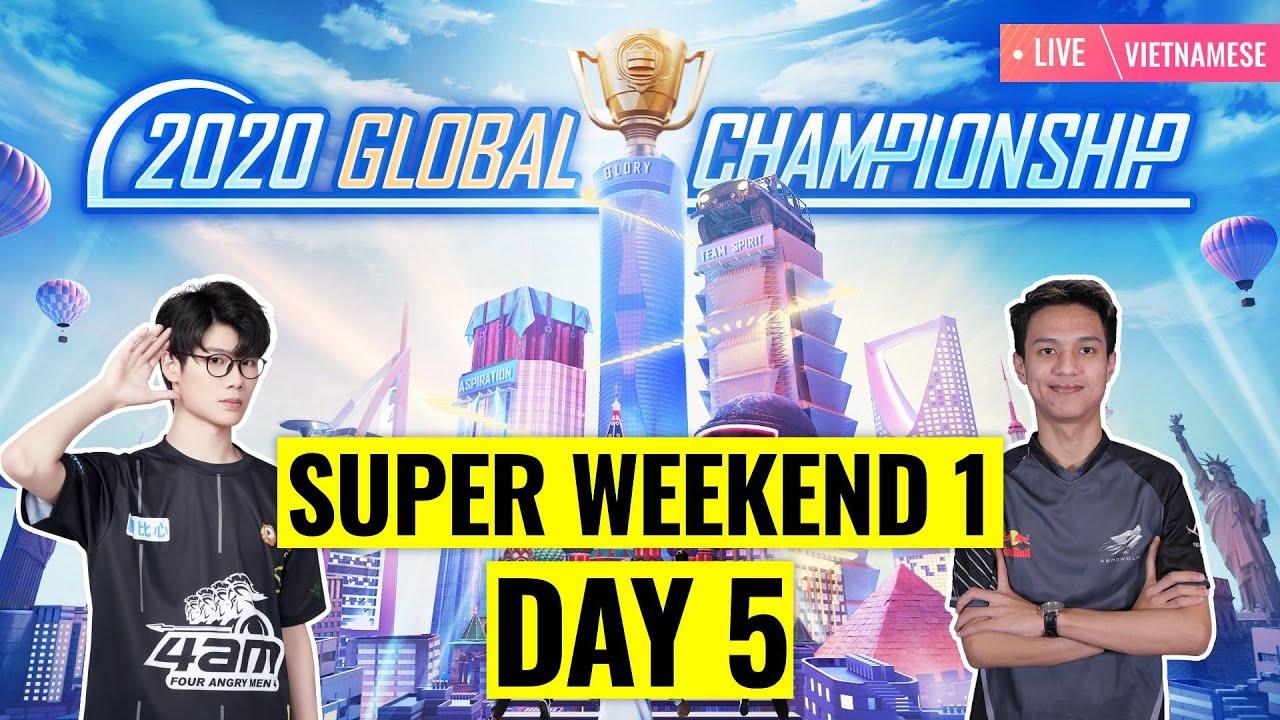 Chung Kết Thế Giới PUBG MOBILE   PMGC 2020 Super Weekend Tuần 1 Ngày 3   Qualcomm