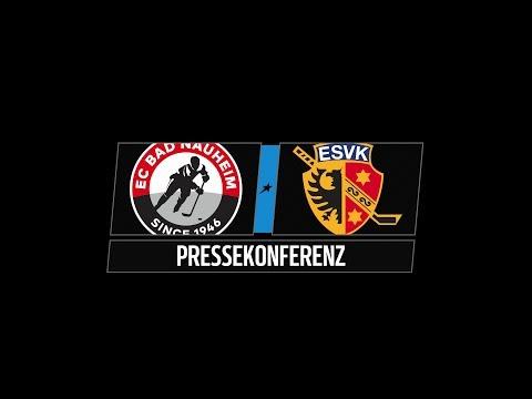 Pressekonferenz Playoffs Viertelfinale Spiel 2 | EC Bad Nauheim vs. ESV Kaufbeuren