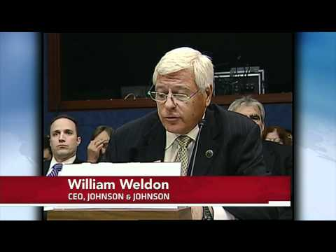 Johnson & Johnson Executives Grilled by Congress
