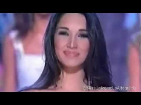 Amelia Vega Miss Universo 2003 Despedida